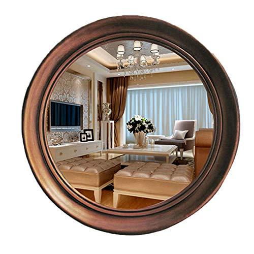 YBGW Wandspiegel Dekoration Spiegel Runder Wandspiegel Kosmetikspiegel Badezimmerspiegel Waschbecken Spiegel