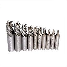 Chiave Inglese Set di 400R-50-22 Fresa frontale,Utilizzato per il Taglio di Lamiere,con 1 *Asta di Prolunga del Supporto MT3-FMB22//10 Inserti in Metallo duro CNC APMT1604//1