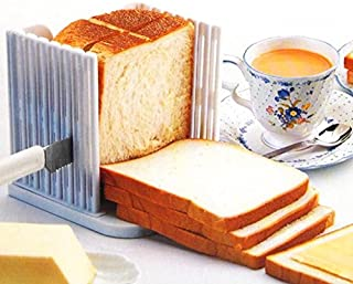 Aodow Pain Slicer Toast Slicer Coupe Guide Pain Toast Slicer Bagel Pain Slicer Maker Sandwich Toast Machine À Découper Pli...