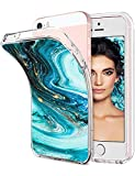 iPhone 5/5s/SE Case TPU Silicone Rubber Cute Anti-Scratch Slim Ultra Protective Clear Shock-Absorption Bumper Soft Amusing Design for Apple i Phone5 Cover (Color 18, iPhone 5/5s/SE)