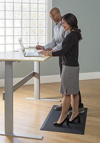 Imprint CumulusPRO 20 in x 40 x 3/4 in, Black Argyle, Anti Fatigue Mat, Standing Desk Mats, Professional Commercial Grade Anti-fatigue Floor Mat perfect for Standup Desks, Kitchens, and Garages