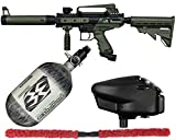 Action Village Tippmann Cronus Basic & Cronus Tactical Competition Paintball Gun Package Kit w/ 68/4500 Air Tank (Tactical - Olive/Black)