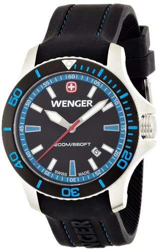 WERGER Seaforce Messer, Schwarz/Blau/Silber, One Size