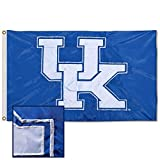 College Flags & Banners Co. Kentucky Wildcats Embroidered and Stitched Nylon Flag
