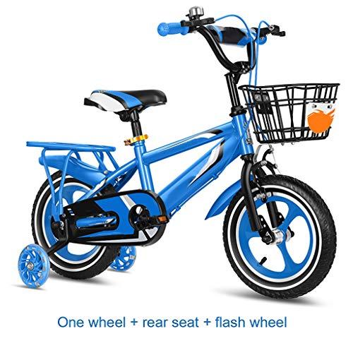 OFFA Kinderfahrrad Alten 2-10, Kinder Junge Mädchen Fahrrad 12 14 16 18 Zoll Mit Stützräder, Kinder Fahrrad Berg Dirt Bike Balance, Kind Kleinkind Baby Fahrrad-Wasser-Flaschen-Halter