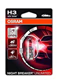 Osram NIGHT BREAKER UNLIMITED H3, 64151NBU-01B,...