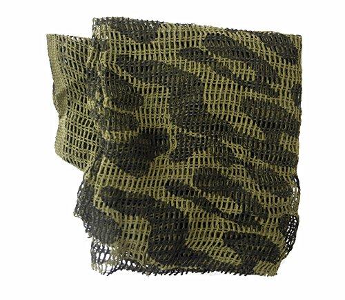 wildlifephotographyshop Netz aus grobgewebtem Baumwollstoff, Camouflage, 100cm x 100cm