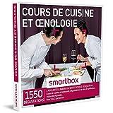 smartbox - coffret cadeau homme femme couple - cours de cuisine et œnologie - idée cadeau - 1550