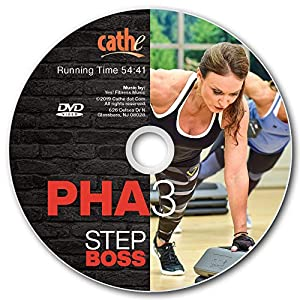 Cathe Friedrich Step Boss PHA 3 Metabolic Exercise DVD Alternates Upper & Lower Body Strength Exercises - Also Includes Extra Premix Workouts & Bonus Abs & Extended Stretch Routines
