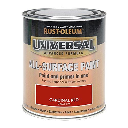 Rust-Oleum 750ml Universal Paint - Gloss Cardinal Red
