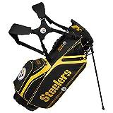 Pittsburgh Steelers Caddie Carry Hybrid Golf Bag