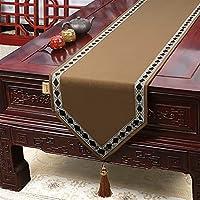 現代のヨーロッパのシンプルな新鮮なテーブルの旗のテーブルランナーの結婚式の装飾のためのバナー (Color : Q, Size : 33*180cm)