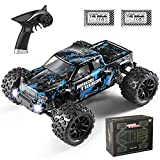 Hobby Grade 4WD: This truck highlighted by front and rear independent suspension and quality ball bearings throughout the overall drive train, are technically assembled with all-terrain high grip off road tires. Fast 1:18 Monster Truck: Powered by RC...