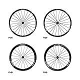 (エンヴィ/ENVE)(自転車用チューブラーホイール)ROAD 25/45/65 (F24H&R24H) ×DT240 前後セット (対応) カンパ用 (リム高) 45