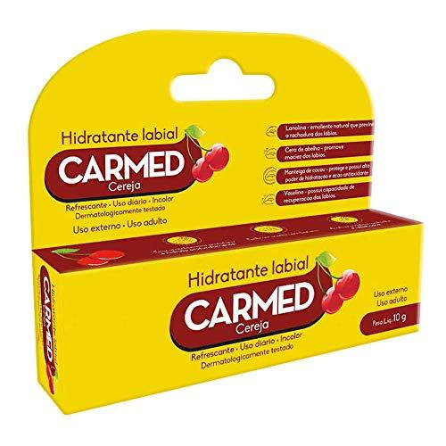 Hidratante Labial Carmed Sabor Cereja com 10g