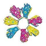 Gardening Gloves for Women, Breathable Nitrile Coated Women Working Gloves