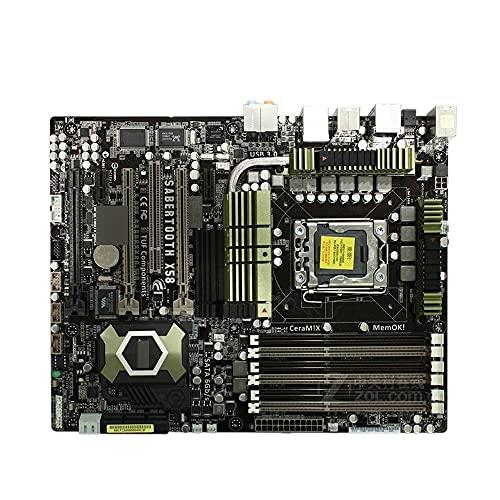 RTYU Fit for la Carte mère ASUS Sabertooth X58 LGA 1366 DDR3 pour Carte mère de Bureau Core I7 Extreme/Core I7 24GB