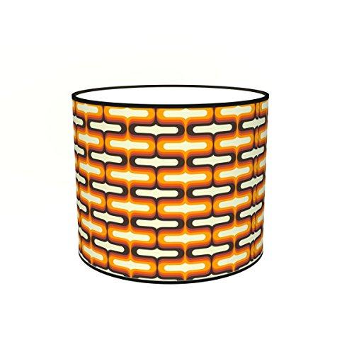 Abat-jours 7111302957220 Imprimé Sixty Lampadaire, Tissus/PVC, Multicolore