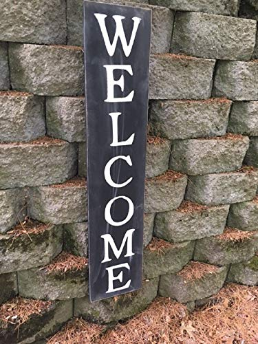Top welcome sign vertical small for 2020
