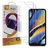guran 4 pezzi pellicola protettiva in vetro temperato per wiko view 3 lite smartphone 9h durezza anti-impronte hd alta trasparenza pellicola