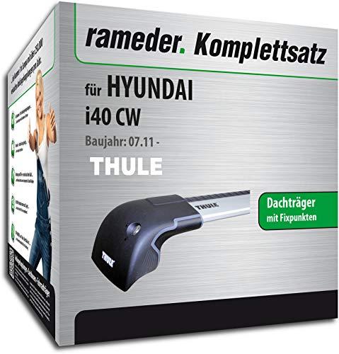 Rameder Komplettsatz, Dachträger WingBar Edge für Hyundai i40 CW (119050-09650-1)