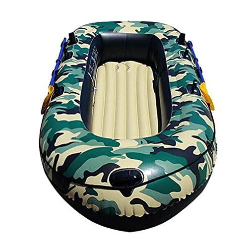 Fnho Schlauchboot klein,Paddelboot Ruderboot,Tarnkajakfahren, Dickes, verschleißfestes Schlauchboot - 270 cm