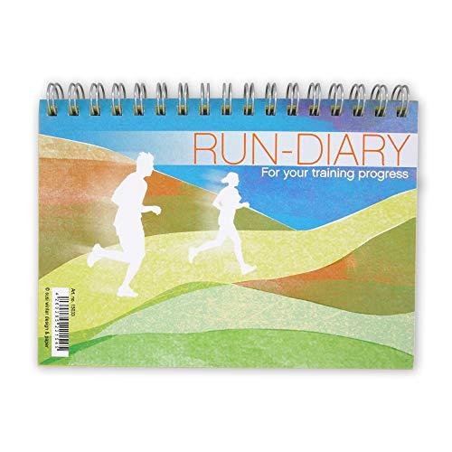 Susi Winter Design & Paper Trainingseinheiten vom Laufen, Rad fahren Marathon Triathlon planen und erfassen, A6 Format, Naturpapier
