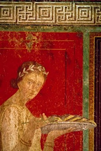 Posterazzi Italy Pompeii Villa of The Mysteries #9 Fresco Circa 60-50 B.C. Roman Art Poster Print (24 x 36) Varies