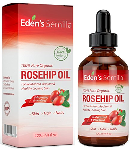 Aceite de Rosa Mosqueta (120ml). Aceite orgánico certificado. Prensado en frío y sin...