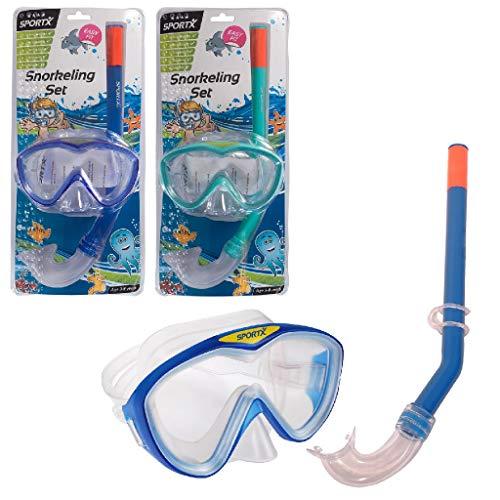 Sportx - 0768009 - Aide À La Nage - Kids Set Snorkeling