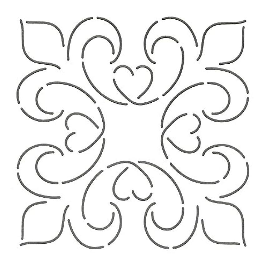 Quilting Creations Elegance Block Quilt Stencil, 6