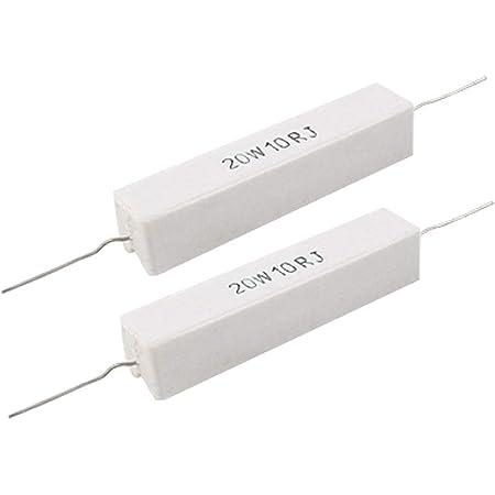 5pcs 1 ohm 1R 10W//10 Watt //-5/% High Power Resistor Cement resistance