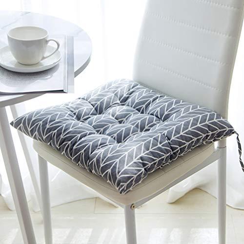 Tatami - Cojín para asiento de interior y exterior, para sillas de comedor, jardín, cocina, sillas de jardín, cojines de estilo exterior (3,45 x 45 cm)