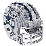 NFL Dallas Cowboys Mini BRXLZ Helmet Building Blocks, One Size, Blue