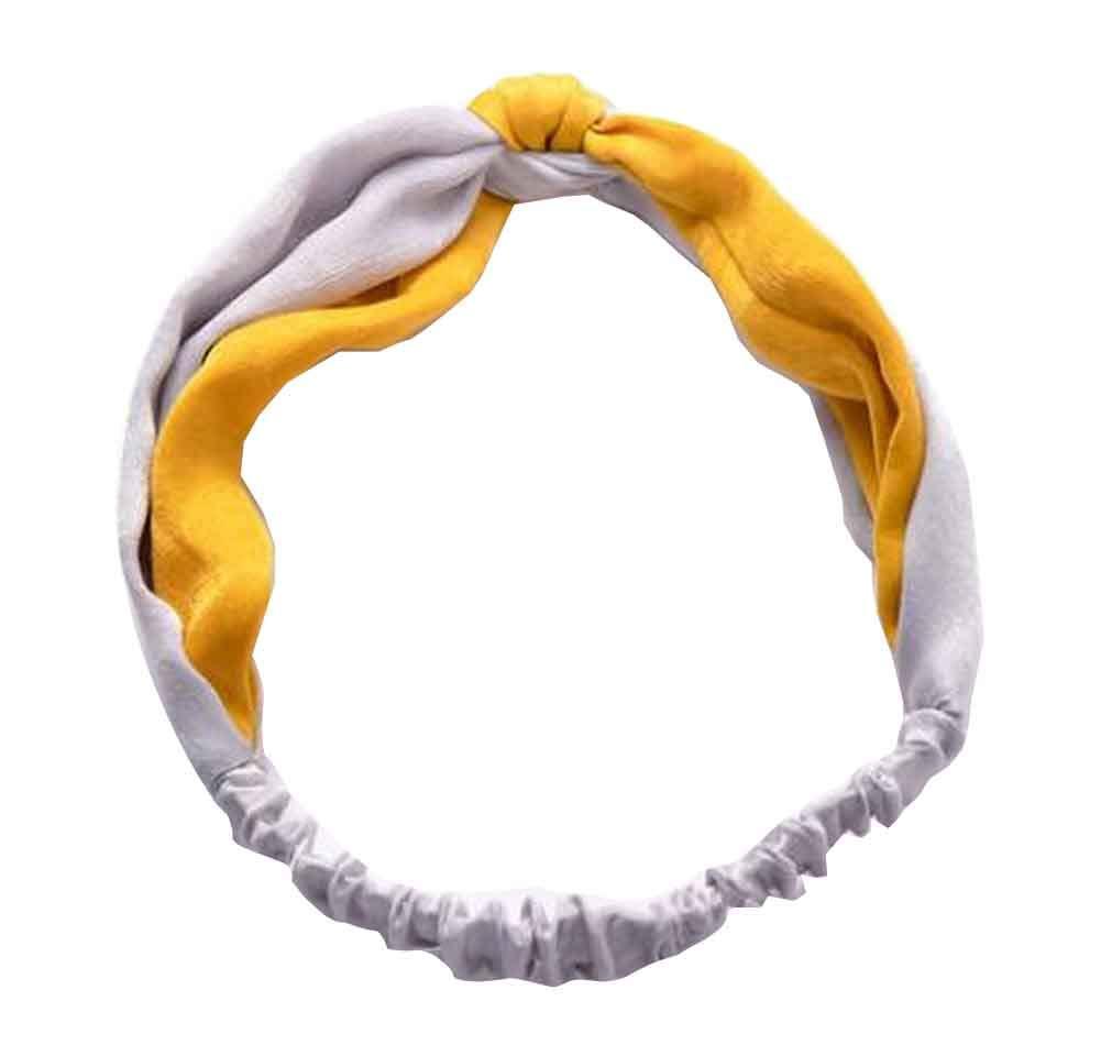 Women's Headbands Vintage Flower Printed Elastic Head Wrap #10