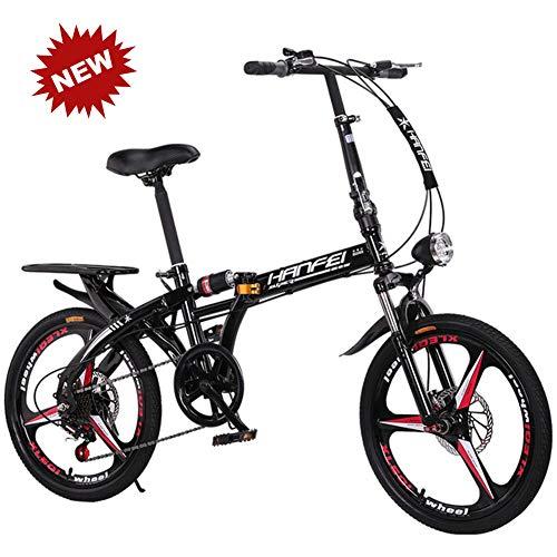 QINYUP Variable de Bicicletas Plegables Velocidad del Disco de Freno Puede ser...