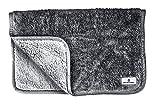 Pet Parents Pawtect Blanket, Premium Waterproof Cat & Dog Blanket with WickQuick & Sherpup Technology, Superb Puppy Blanket, Waterproof Dog Blanket, Blankets for Dogs, Cat Blanket Slate 32x40
