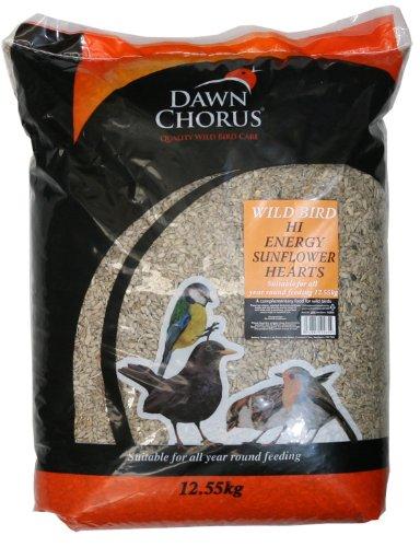 25 kg Dawn Chorus Sunflower Hearts For Wild Birds (12.5 kg x 2)