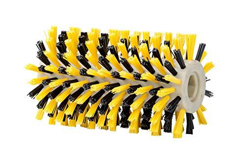GLORIA Holzbürste UNIVERSAL | Zubehör für BrushSystem-Geräte (ausgenommen WeedBrush) | Holz-/WPC-Terrasse reinigen mittels Nylonbürste | 10 cm Durchmesser | 16,5 cm Breite