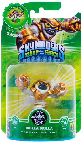 Skylanders Swap Force- Single Character - Swap Force - Grilla Drilla