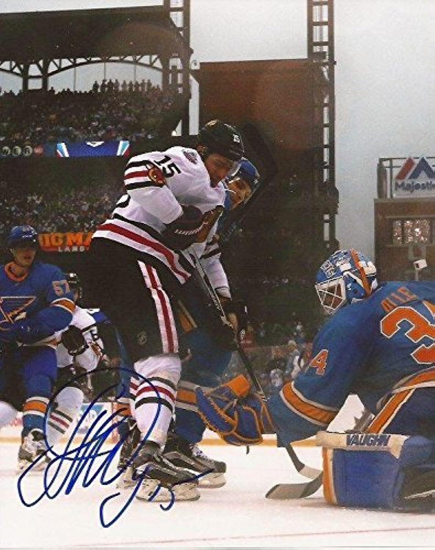 Autographed Anisimov Picture  8x10 Hawks 4  Autographed NHL Photos
