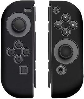 Case Silicone Nintendo Switch Proteção Para Controle Joy-con - Preto