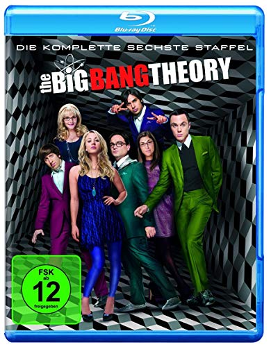 Cover The Big Bang Theory - Die komplette sechste Staffel [Blu-ray]