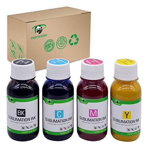 Supricolor Sublimation Ink (Non-OEM), CISS Heat Transfer, 400 ml for Stylus C68 C88 CX3800 CX3810 CX4200 CX4800 CX5800 CX7800 7710