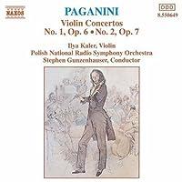 Violin Concerti 1 & 2 by NICCOLO PAGANINI (1994-01-28)