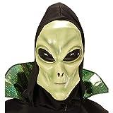 Máscara de Alien con Capucha y Ojos infantil