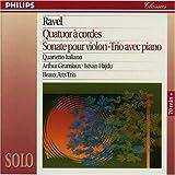 Ravel: String Quartet Violin Sonata Pno Trio