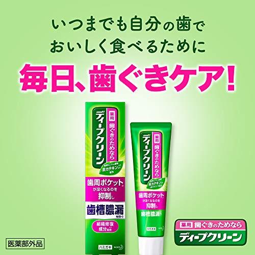 ディープクリーン薬用ハミガキ歯槽膿漏・口臭予防160g[医薬部外品]