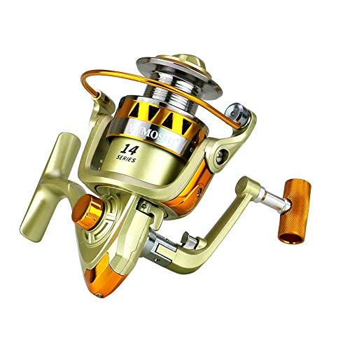 Adoolla Carrete de pesca giratorio de metal 2000-6000 Series...