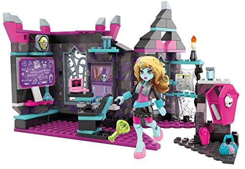Mattel Mega Bloks DKY23 - Konstruktionsspielzeug, Monster High Bissiologie Unterricht